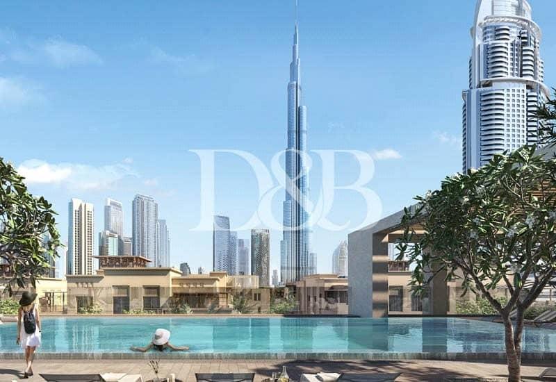 10 Last 1 Bedroom   Burj Facing   High Floor