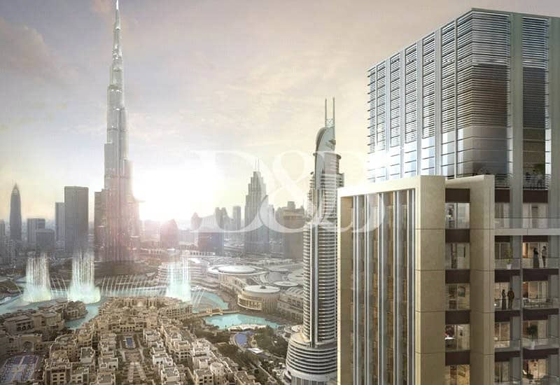 2 Facing Burj Khalifa 2BR | Amazing Location