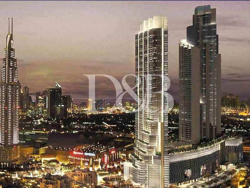 2 Easiest Access to Dubai Mall | Stunning View