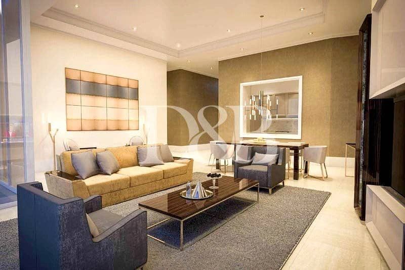 2 Pay 25% and Move In | Full Burj Khalifa View