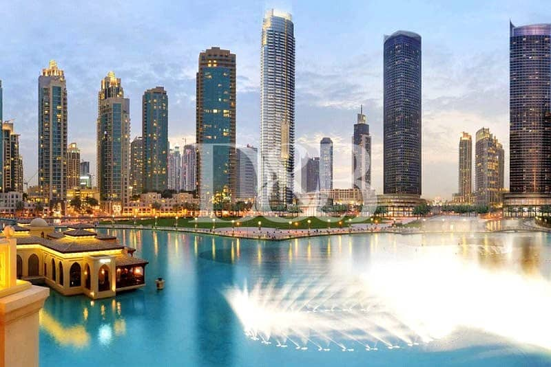 10 Pay 25% and Move In | Full Burj Khalifa View