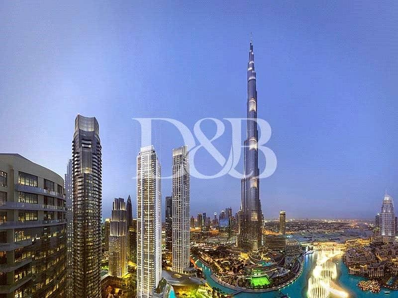 10 Burj and Fountain View | Next to Dubai Mall
