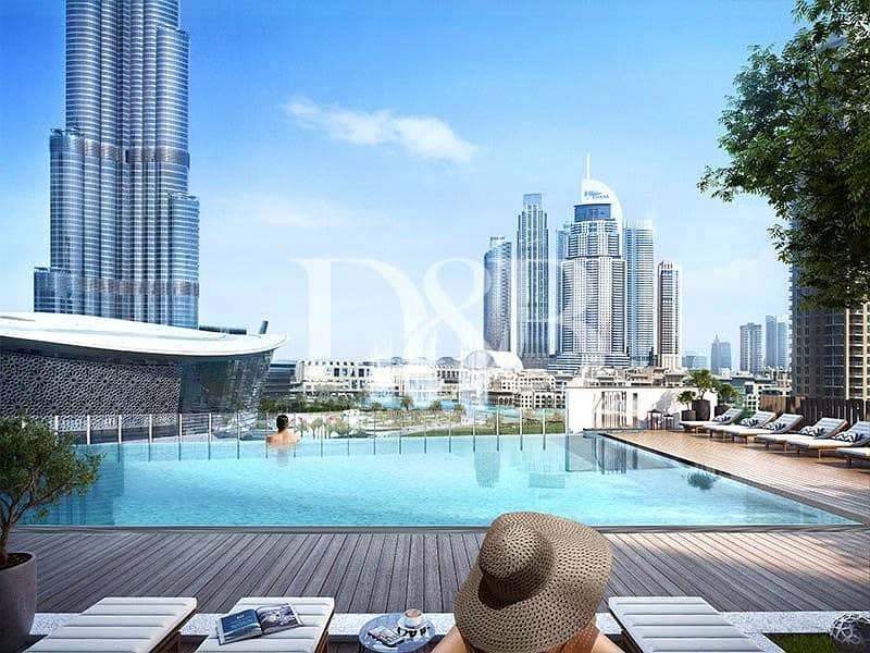 2 Striking View Of Burj Khalifa | 2 Br Apartment