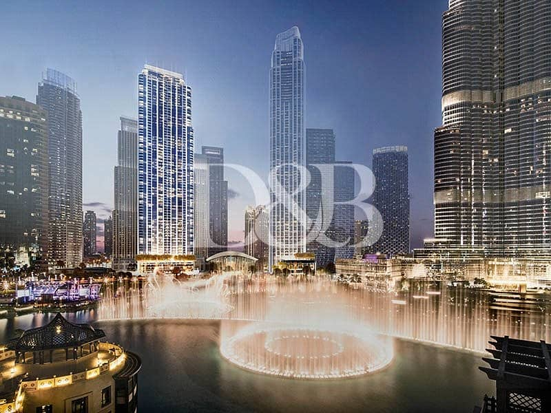 10 Striking View Of Burj Khalifa | 2 Br Apartment