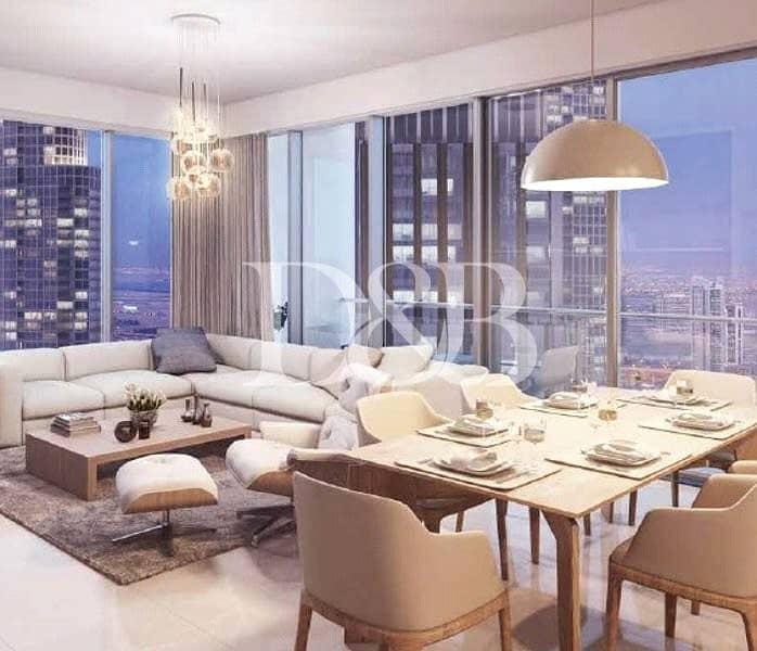 2 Burj And Fountain Views | High Floor Unit