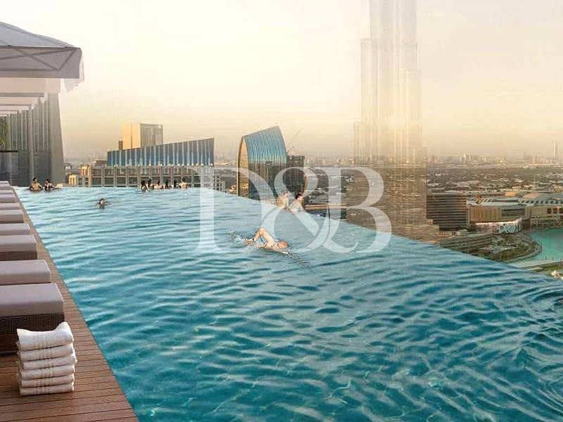 10 Ready This Year | Best Priced |Burj Khalifa View