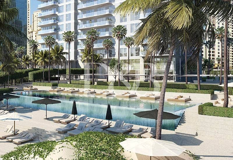 10 Last 2 Bedroom with Full Sea & Palm View | Call me
