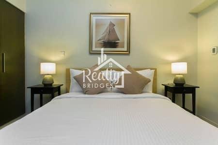شقة 1 غرفة نوم للايجار في وسط مدينة دبي، دبي - 1BR with Burj Khalifa View | Fully-Furnished  Pool & Gym