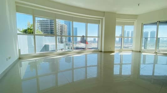 3 Bedroom Flat for Rent in Al Reem Island, Abu Dhabi - City View Apartment With Maid's Room and Balcony