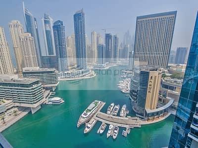 2 Bedroom Flat for Sale in Dubai Marina, Dubai - 2 BR | Mid Floor Full  Marina View | Next to Mall