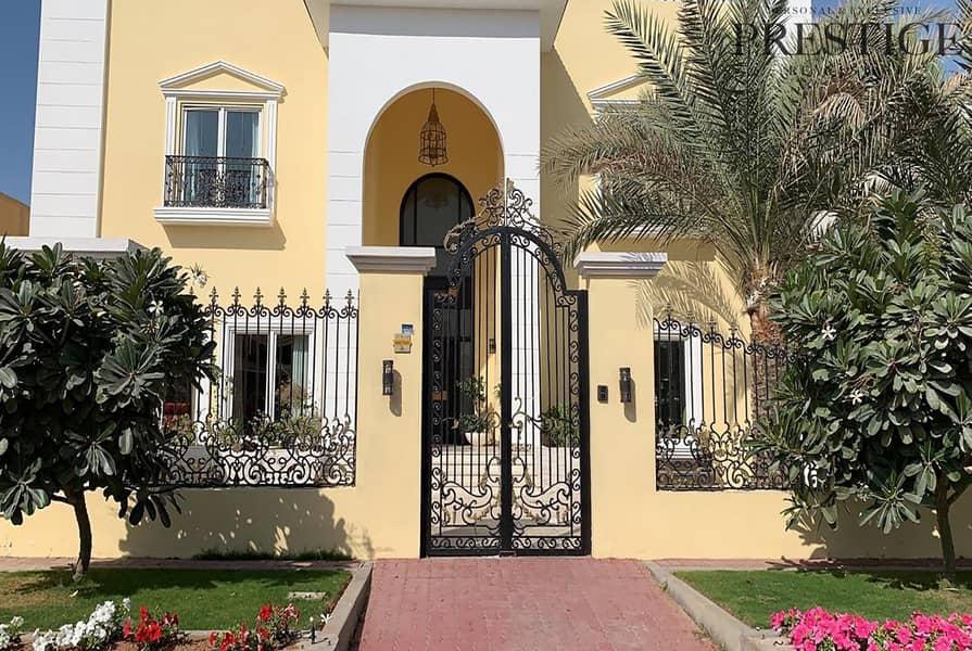 6 Bed + Maid Room Villa Private Pool Al Barsha 3