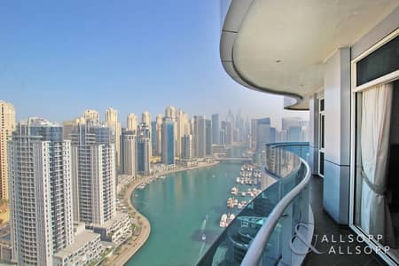 3 Bedroom Flat for Sale in Dubai Marina, Dubai - High Floor | Full Marina Views | Furnished
