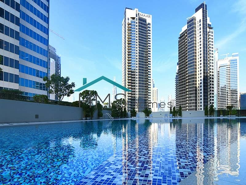 19 Bright & Spacious |  Burj khalifa View | 4 Checks