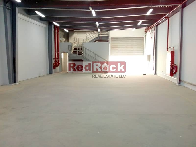 AED 15/sqft 30 Days free Excellent 4491 Sqft Warehouse in Jebel Ali