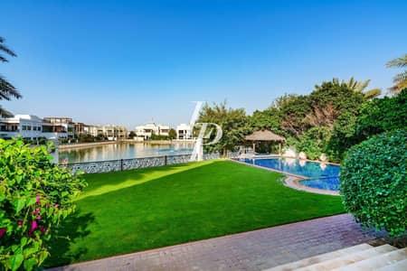 فیلا 6 غرف نوم للايجار في تلال الإمارات، دبي - Mansion | Lake View | Huge Rooftop Terrace