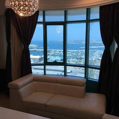 2 Bedroom Apartment for Sale in Dubai Marina, Dubai - Fully Furnished |Full sea view |2 bedroom