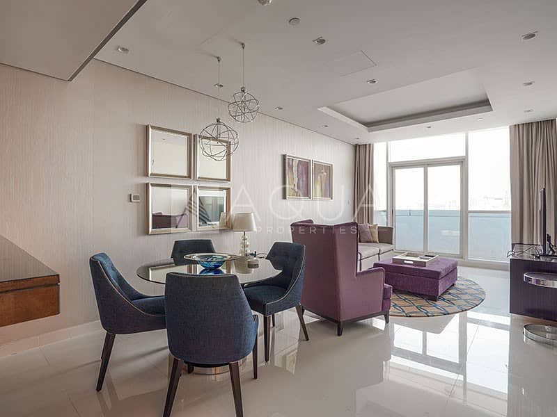 2 Fully Furnished | Great Views | High Floor