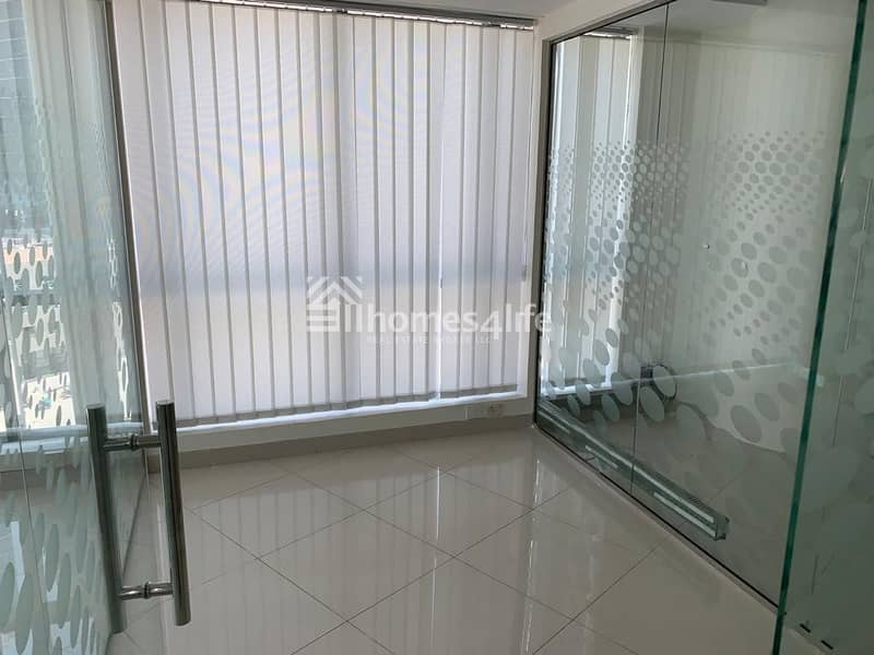 17 Partitioned Office Near to Metro Station
