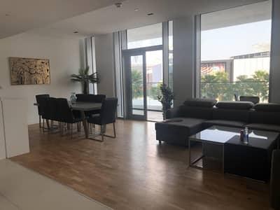 فلیٹ 2 غرفة نوم للايجار في جزيرة بلوواترز، دبي - Brand New Furnished Dubai Eye View