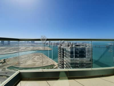 2 Bedroom Apartment for Rent in Al Reem Island, Abu Dhabi - No Commission | Multiple Payments| 2BHK with Sea View