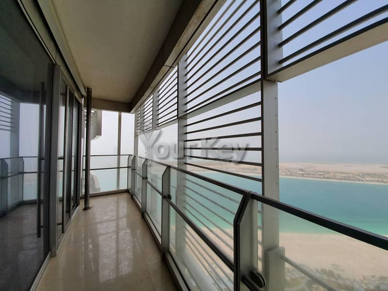 2 Aesthetically Pleasing 4BHK with Large Terrace | SEA View