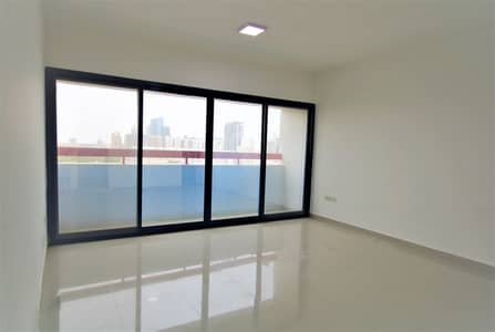 Studio for Rent in Airport Street, Abu Dhabi - Amazing Unit with Balcony Ideal for a Couple