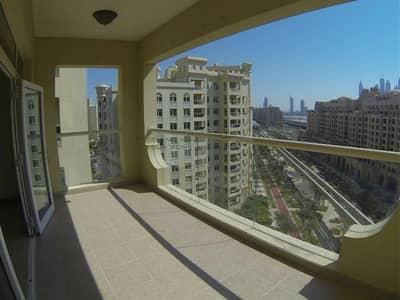 شقة 2 غرفة نوم للبيع في نخلة جميرا، دبي - Exclusive l Vacant Apt l Skyline view | Balcony