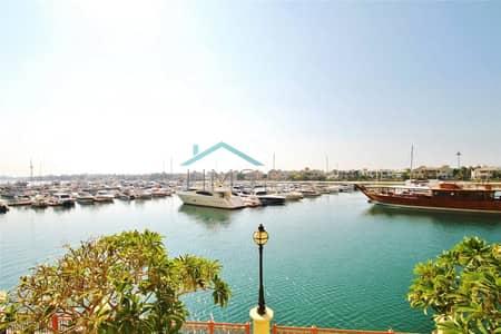 تاون هاوس 2 غرفة نوم للبيع في نخلة جميرا، دبي - Marina Residence Townhouse Sea Views