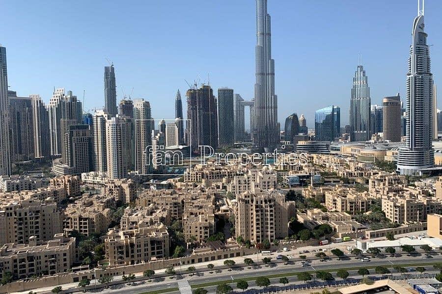 Amazing 2 BR Apartment | Burj Khalifa View