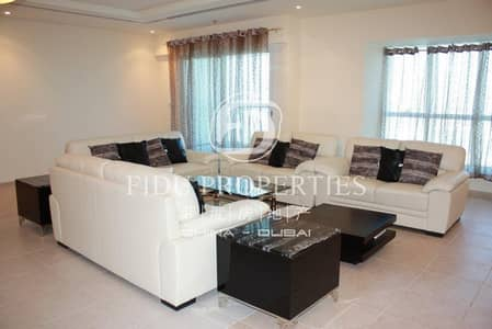 4 Bedroom Penthouse for Rent in Dubai Marina, Dubai - Fully Furnished | Palm View | High Floor
