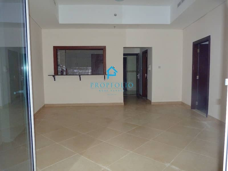 Semi Closed Kitchen I Brand New Spacious 1 bhk