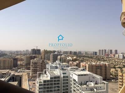 فلیٹ 1 غرفة نوم للايجار في واحة دبي للسيليكون، دبي - Well Maintained & Spacious 1 bedroom + hall + Balcony in Palace Towers