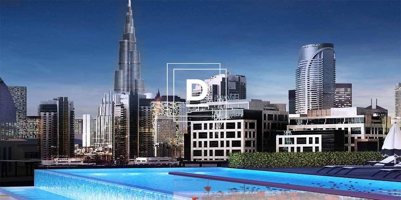 12 Magnificent  View  of  the   Burj Khalifa