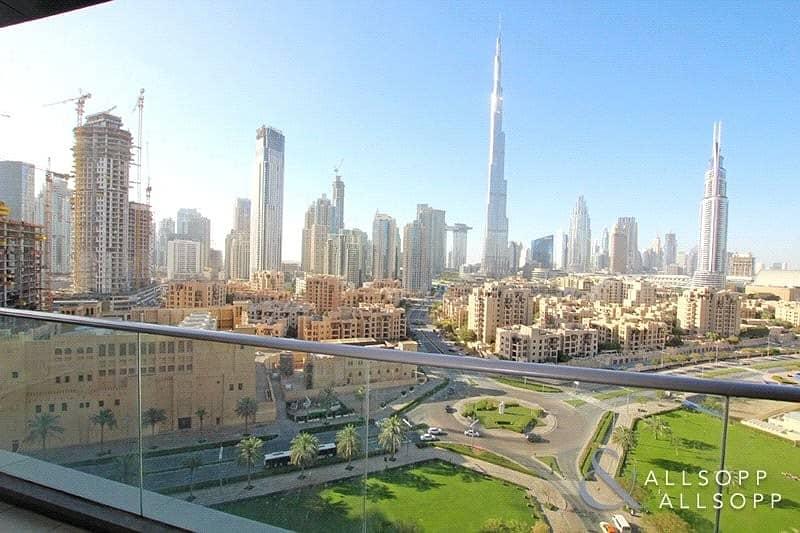 2 2 Bed | Full Burj Khalifa View | 2.5 Bath