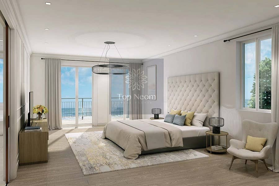 let's begin your luxury life in Blue water community jumeirah 4BR Townhouse
