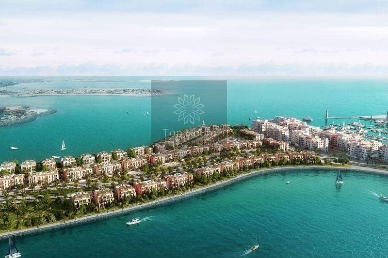 10 let's begin your luxury life in Blue water community jumeirah 4BR Townhouse
