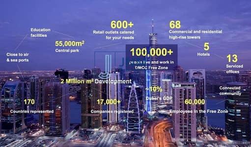 ارض صناعية  للبيع في أبراج بحيرات الجميرا، دبي - Industrial Plot