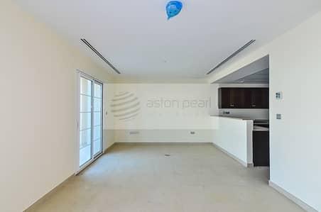 تاون هاوس 2 غرفة نوم للايجار في مثلث قرية الجميرا (JVT)، دبي - Huge Corner 2BR+M Nakheel Townhouse