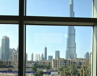 استوديو  للبيع في وسط مدينة دبي، دبي - Burj Khalifa View | Studio Apartment | Corner Unit