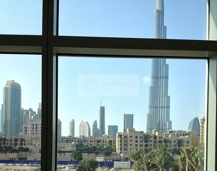 Burj Khalifa View   Studio Apartment   Corner Unit