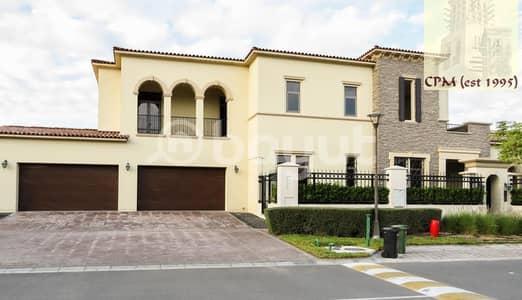 فیلا 6 غرف نوم للبيع في جزيرة السعديات، أبوظبي - Premium 6 BR Saadiyat Beach villa - For Rent : AED 725