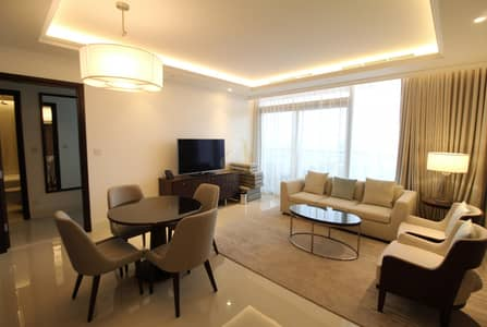 1 Bedroom Hotel Apartment for Rent in Downtown Dubai, Dubai - Stay Home Stay Safe  Luxury Finishing  1+Study