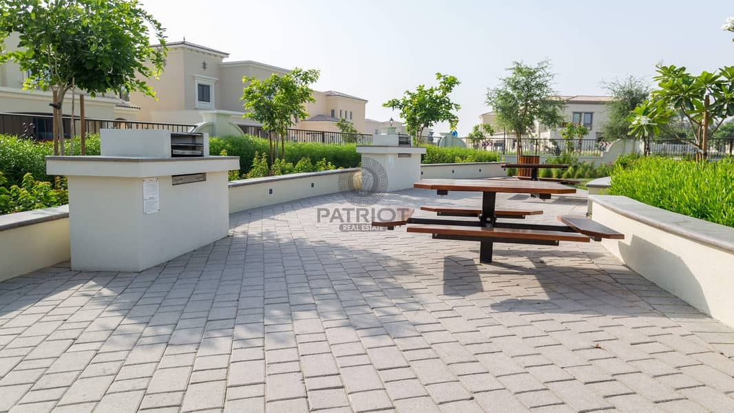 READY NOW /TYPE THL 3 BEDROOM+MAID VILLA FOR RENT IN DAMAC HILLS