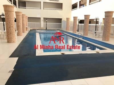 2 Bedroom Apartment for Rent in Al Khalidiya, Al Ain - Swiming Pool | Gym | Spacious| 6 Payment