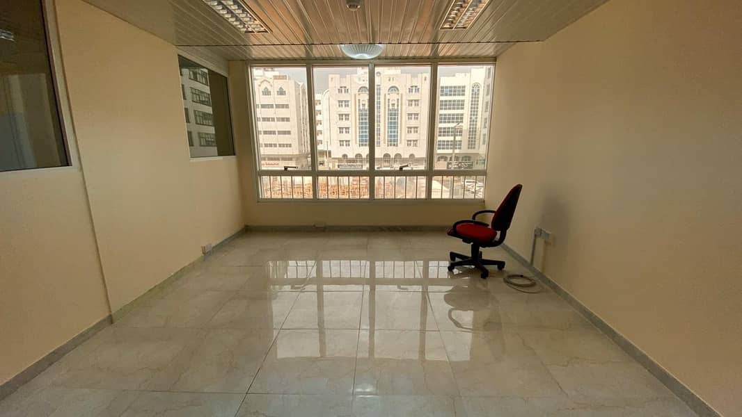Affordable, Ready to Move, Well maintained offices in Al Khalidiyah. . . . !