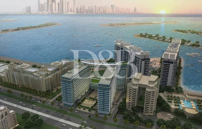 Sea Front Furnished 1BR | Sea View | Post Handover