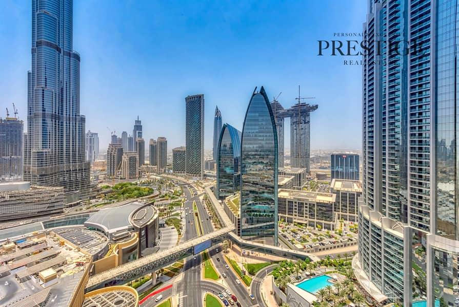 14 High Floor Studio | Address Dubai Mall |  Burj Khalifa Area