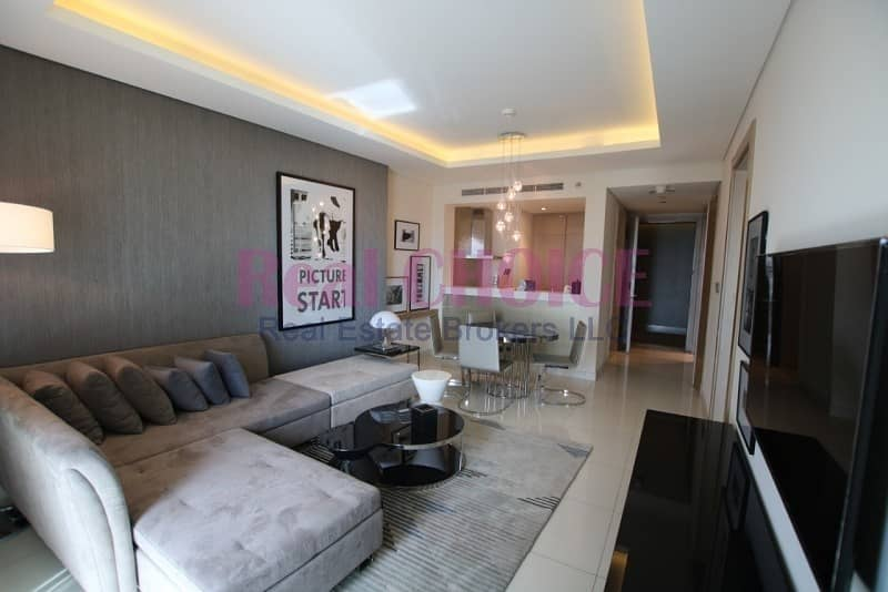 Fully Furnished 1BR Brand New High Floor
