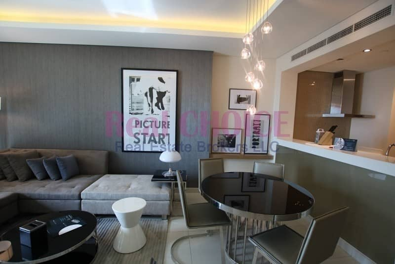 2 Fully Furnished 1BR Brand New High Floor