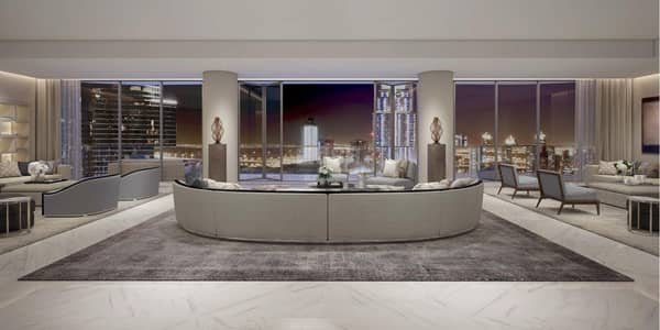 4 Bedroom Flat for Sale in Downtown Dubai, Dubai - Only Penthouse Tower in Downtown Il Primo